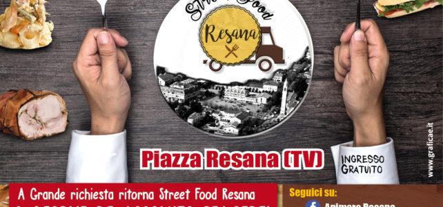 Street food Piazza Resana Grafica – comunicazione grafica
