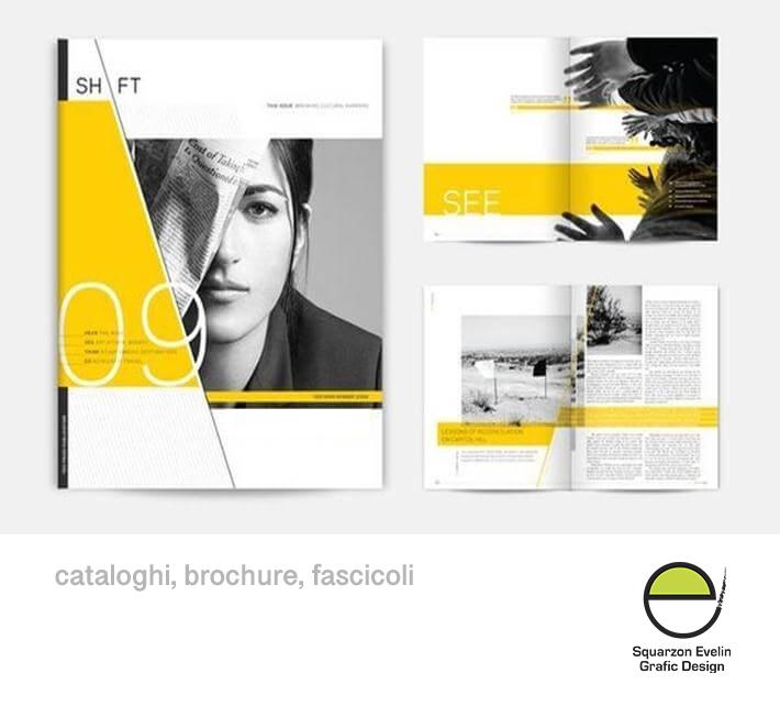 Brochure, depliant, catalogo